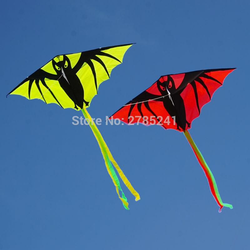 55in Vampire Bat Kite single line Outddoor fun Sports Toys for kids with flying line