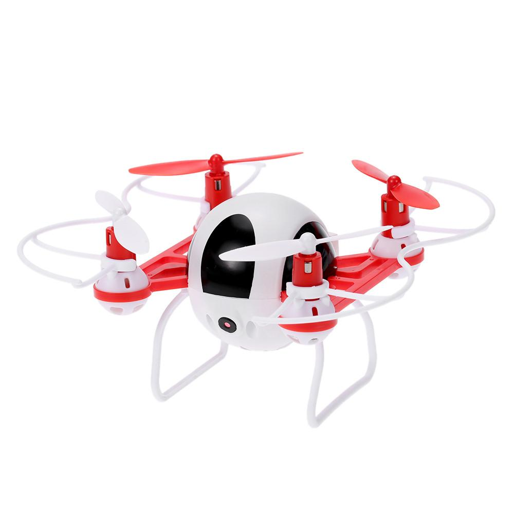 T902C 2.4GHz 4CH 6-Axis Gyro Headless RC Quadcopter RTF Mini Drone With 720P HD Camera  with Round Body