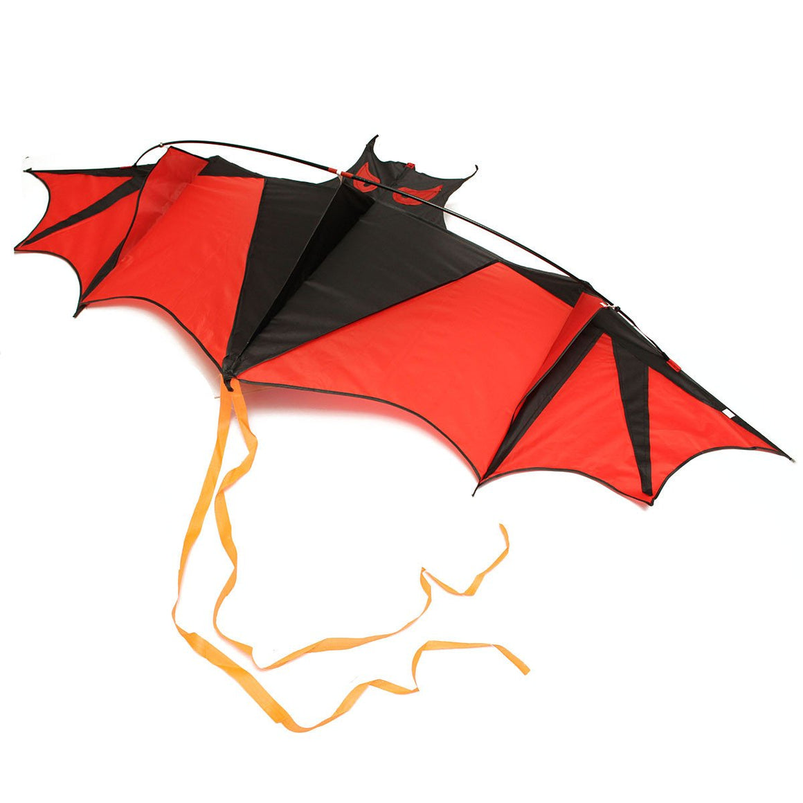 New Toys Flying Kites 190cm Huge Bat Kite Without String And Handle Outdoor fun Sports Toys