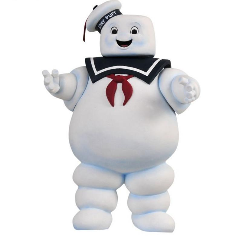 26cm Vintage Ghostbusters 3 Stay Puft Marshmallow Man Bank Sailor Action Figure Toy Dolls