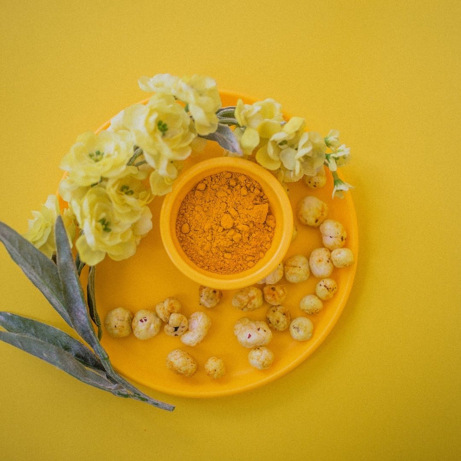 Dear Snackers Makhana Golden Turmeric