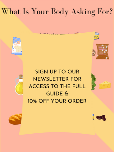 sign up to our newsletter for access to our full guide and 10% off your order