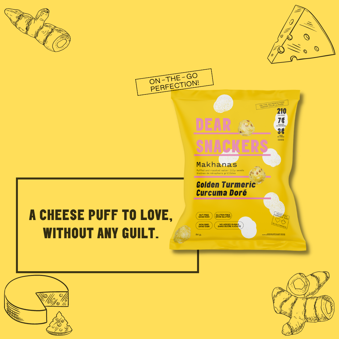 a cheese puff to love, without any guilt