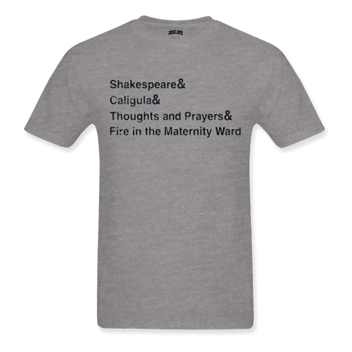Shakespeare& Caligula& Grey Tee