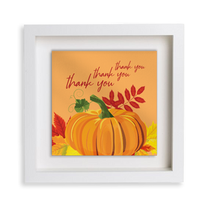 Pumpkin Happy Frame