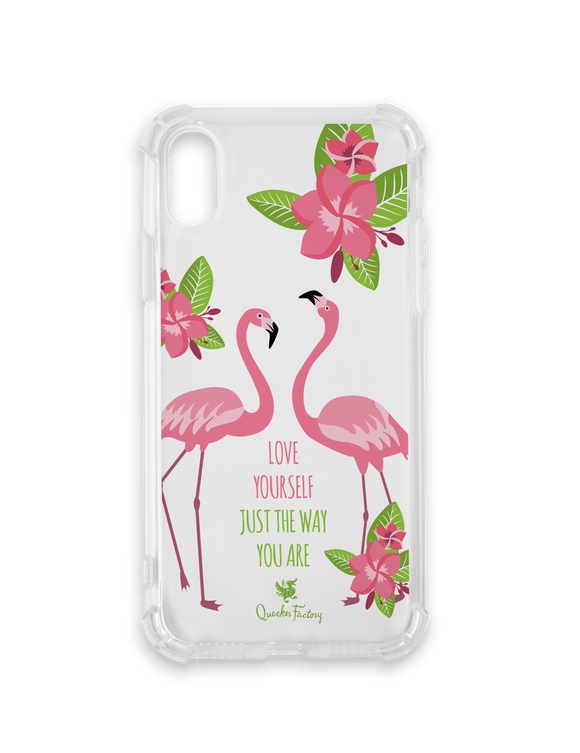 Love Yourself Flamingo Phone Case