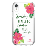 Tropical Flowers Dreams Come True Phone Case