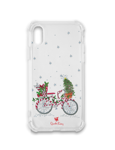 Christmas Bicycle Phone Case