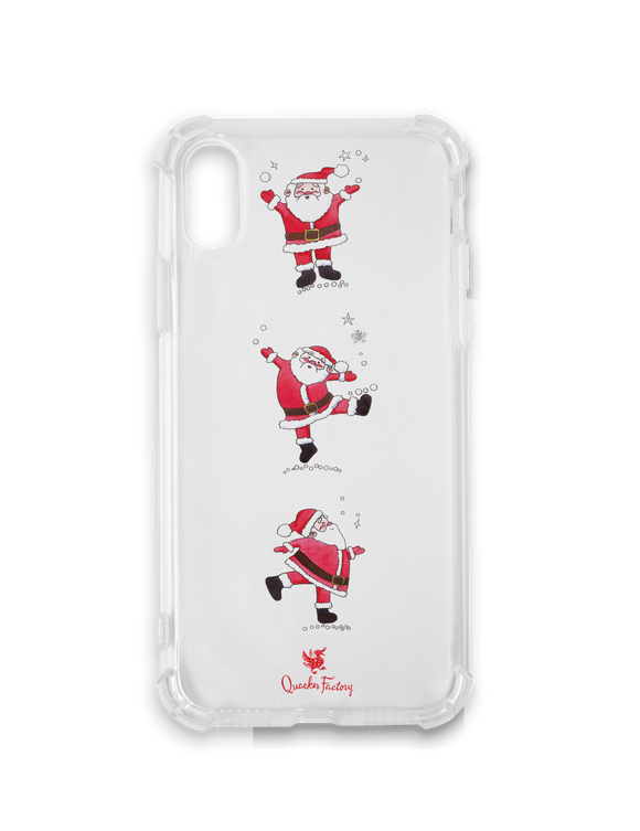 Dancing Santas Phone Case