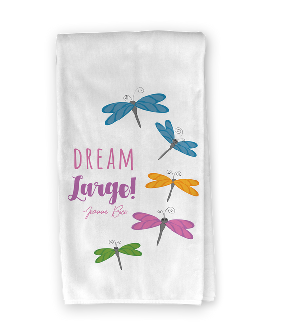Dream Large Dragonfly Kitchen Towel