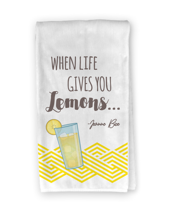 Lemonade Kitchen Towel