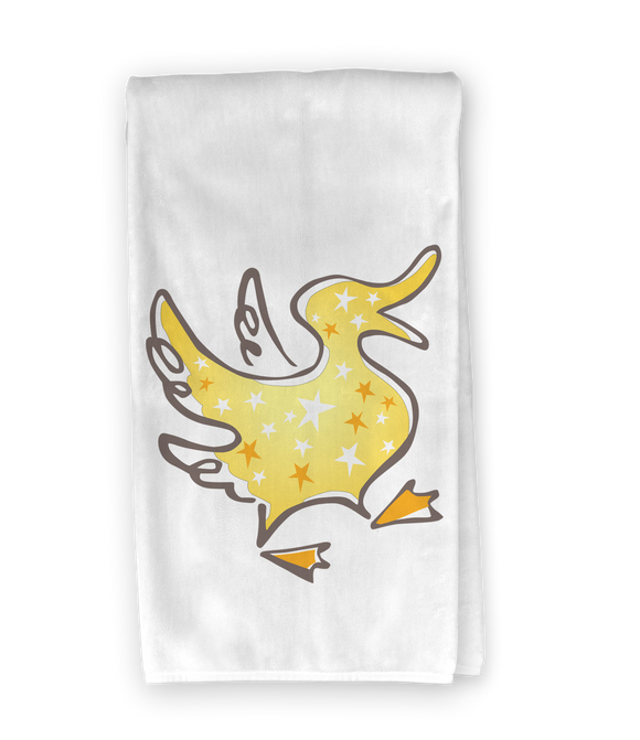 Yellow Duck Kitchen Towel