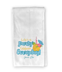Pineapple Drink Kitchen Towel