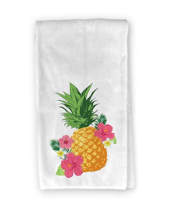 Tropical Pineapple Kitchen Towel