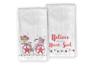 Beach Bicycle Kitchen Towel Set - Save 15%