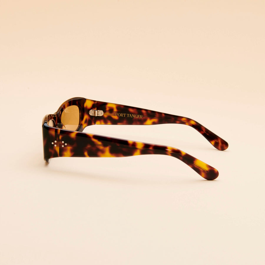 Saudade | Dark Tortoise Acetate | Light Brown Lens