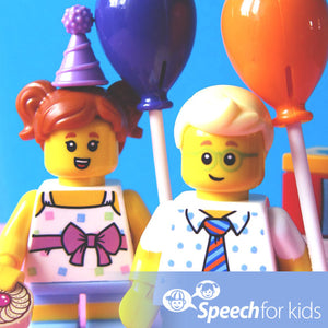 Using Lego For Speech Therapy