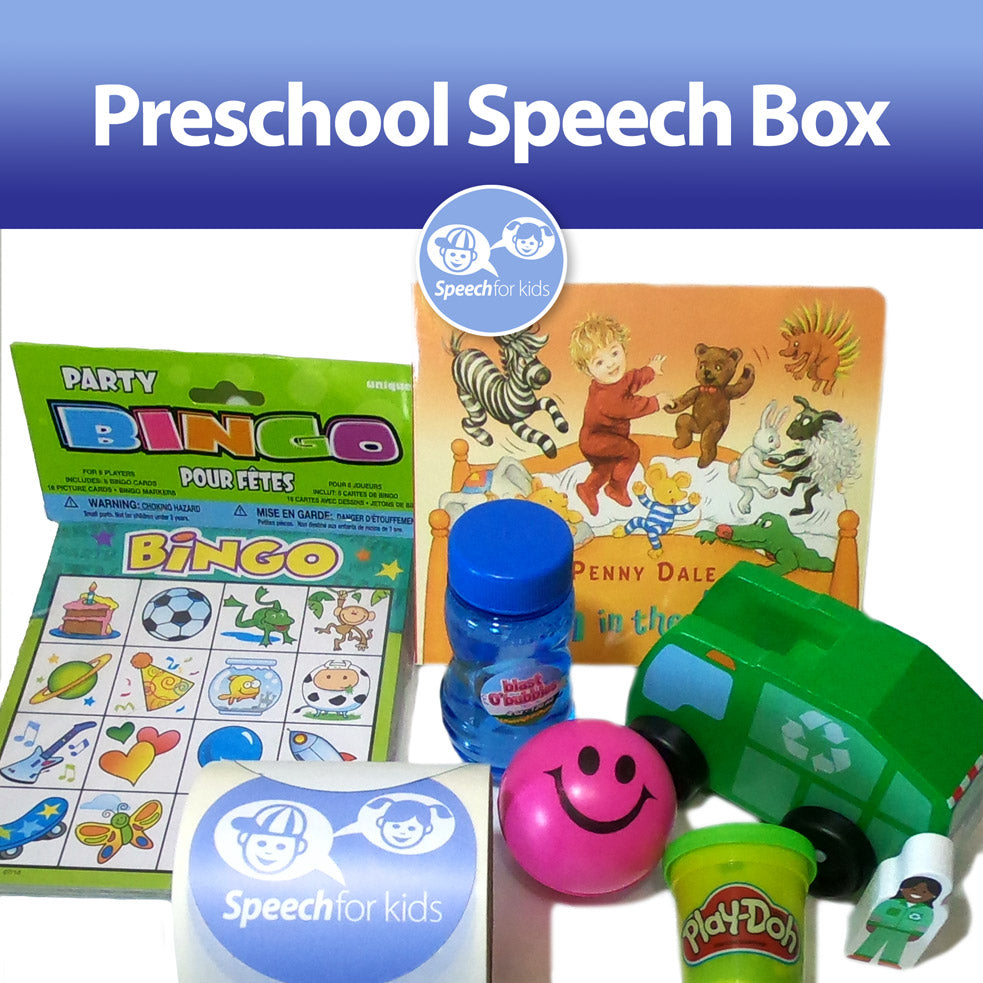 Preschool Speech Box