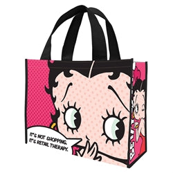 Betty Boop Retail Therapy Large Recycled Shopper Tote