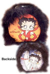 Product Image Angel/Devil Betty Circular Tin Tote