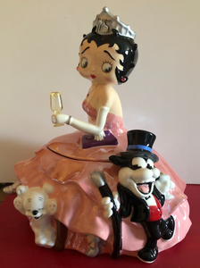 Betty Boop 75 Anniversary Cookie Jar   Retired