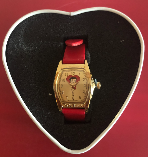Betty Boop Basic Betty Valdawn Watch    Retired Very Hard To Find