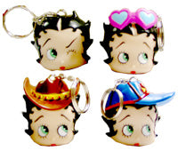 Product Image Betty Boop Key Rings