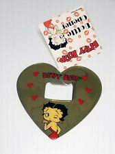 Betty Boop Bottle Opener Heart Shape Magnetic Retired