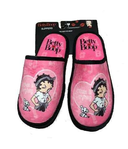 Betty Boop Attitude Slippers  NEW
