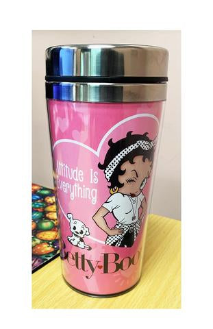 Betty Boop Attitude Thermo Travel Mug