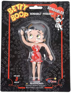 Betty Boop Bendable Doll - Retired