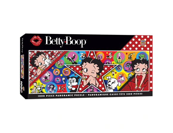 BETTY BOOP BETTY BOOP PANORAMIC 1000 PIECE PANORAMIC JIGSAW PUZZLE