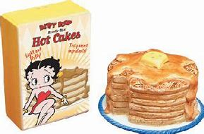 Betty Boop Kiss The Cook Hot Cakes Salt and Pepper Shakers
