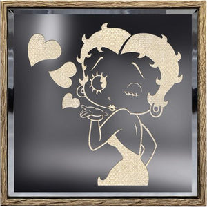 "Betty Boop Lighted Shadow Box ""NEW"""