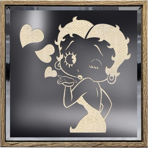Betty Boop Lighted Shadow Box
