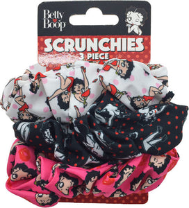 Betty Boop Scrunchies (3 Piece Set)