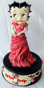 "Betty Boop ""Rose"" Musical  Figurine (Retired)"
