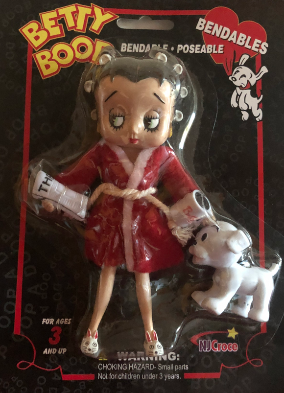 Betty Boop I Don't Do Mornings Bendable Doll with Pudgy