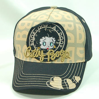 Product Image Betty Boop Face Embroidered Hat