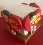 Betty Boop Desktop Note Pad Holder