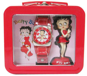 Betty Boop Watch and Figurine Gift Set