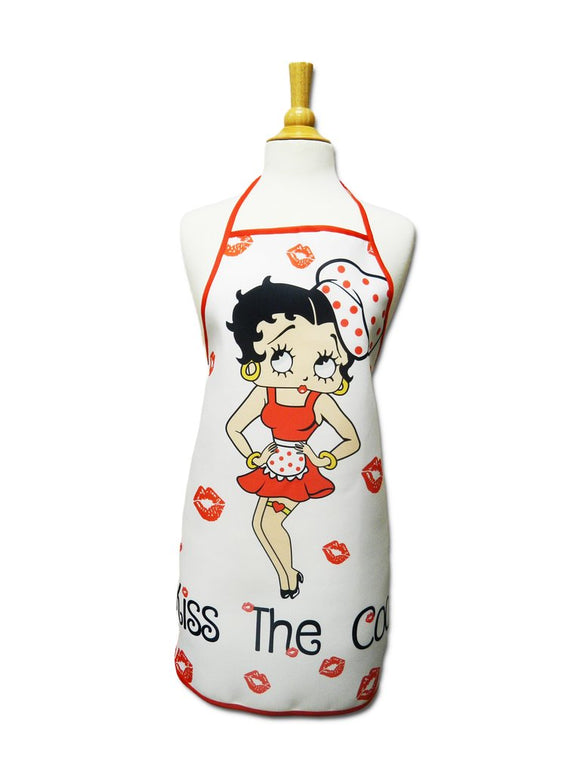Betty Boop Apron Kiss The Cook