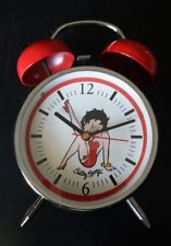 Betty Boop Old Fashion Style Kick Alarm Clock