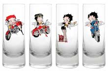 Product Image Betty Boop Biker Shooter Set