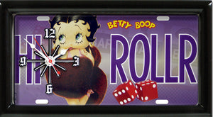 Betty Boop High Roller Clock