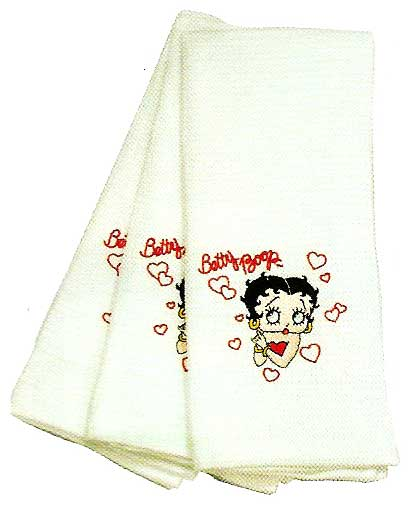 Product Image Betty Boop <i>Hearts</i> Kitchen Towels