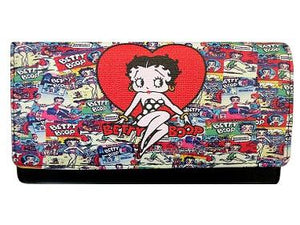Betty Boop Collage Wallet