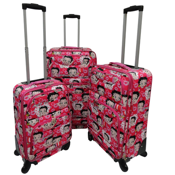 Rolling Suitcase Set Betty Faces Suitcase Set