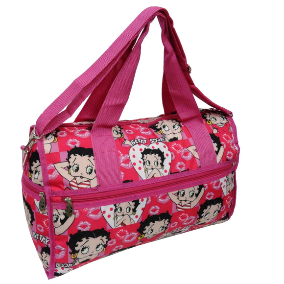 Betty Boop Large Polyester Duffle Bag Betty Pose