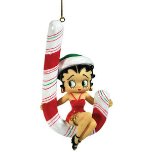 Candy Cane Betty Ornament